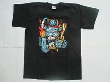 Tee-Shirt Neuf Rock Taille L Noir Fruit of the Loom