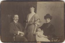 Famille Juive de Suisse Photo Jacques Weiss Bale Vintage Argentique