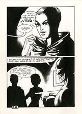MAGNUS Kriminal #58 p88 ORIGINAL COMIC ART Italian
