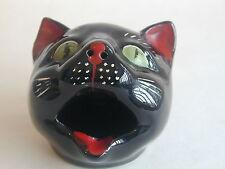 Vintage 50's Ceramic Cats Head Ash Tray