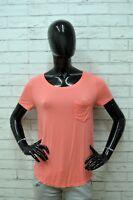 Maglia Maglietta HOLLISTER Donna Taglia S Camicia Polo Shirt Woman Manica Corta