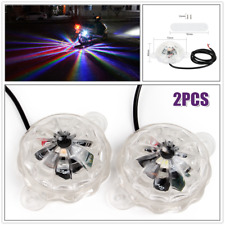 2×Universal Motorcycle Car LED Colored Light Underglow Under Car Body Lighting