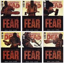 WALKING DEAD #97-102 ALL NM 1ST PRINTS 1ST APPEARANCE NEAGAN! FULL STORY LOT 100