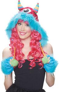 Monster Hood Rainbow Hat Adult Costume Kit Halloween