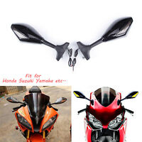 FOR YAMAHA YZF 600 YZF R1 R6 R6S MOTORCYCLE MIRRORS LED TURN SIGNALS INDICATOR