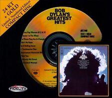 Dylan BOB  Greatest Hits Bob Dylan 24K GOLD  CD Jul-2012 Audio Fidelity NEW