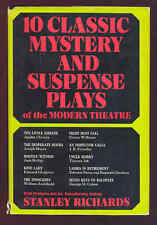 10 Classic Mystery & Suspense Plays of the Modern Theatre Agatha Christie HC