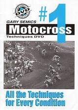 Motocross MX Instructional, Technique DVD #1 from Volume 1 by Gary Semics