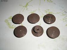 Bouton lentille de style en fer rouillé ,meuble, commode, tiroir, diamètre 3 cm