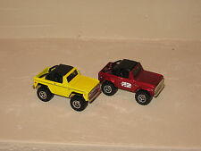 Matchbox 1972 Ford Bronco 4X4 Lot of 2 Exclusive Rare '72 Loose