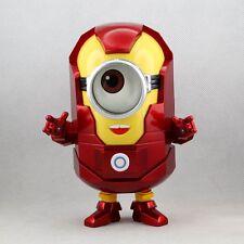 Despicable Me 2 - MINION STUART Iron Man Stlye PVC Action Figure Toy New in box