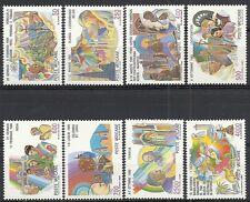 1987 VATICANO I VIAGGI DEL PAPA NEL MONDO GIOVANNI PAOLO II MNH ** - ED