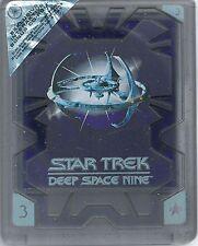 Star Trek Deep Space Nine Season 3 Hartbox NEU Deutsche Ausgabe nur DVDs OVP Se.