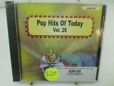 MUSIC MAESTRO KARAOKE 6376 Pop hits of today Vol  26 CD+G NEW