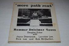 Douglas Ecker~More Path Rent~Hammer Dulcimer Tunes~Joyce Desmarais~FAST SHIPPING