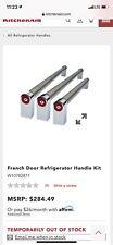 New listing New KitchenAid Refrigerator W10782871 Handle Kit