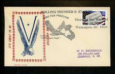US FDC #2966 Washington DC 1995 POW & MIA Military Coz-Art Covers Unofficial