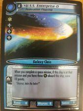 Star Trek CCG Dangerous Missions 9R18 U.S.S Enterpise-D Federation FOIL NM-Mint
