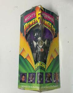 Bandai Mighty Morphin Power Rangers Zach Black Ranger in Box