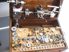 Vintage and Rare Watchmakers lathe - 6.5 mm G Boley - quality German lathe