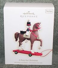 Hallmark Keepsake A Pony For Christmas Ornament 2008