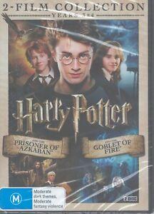 New - HARRY POTTER 2-Disc Collection (2 x DVD) Prisoner Azkaban + Goblet Of Fire