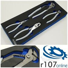 Blue Point 4pc Pliers Set in Tool Control Foam, Incl VAT. As sold by Snap On.