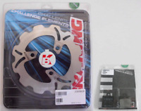 Braking Kit Anteriore Disco Freno Wave + Pastiglie MBK	BOOSTER NG 	50  1996 1997