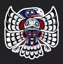 "4"" Die Cut Sticker Native American Thunderbird Legend Tribal Art Southwest Lore"