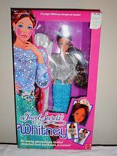 JEWEL SECRETS WHITNEY Doll #3179 Original 1986 Mattel Barbie's Friend  NRFB
