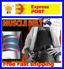 MENS Muscle Belt Fat Burning Slimming Belt Waist Band Trimmer Burner Shapewear