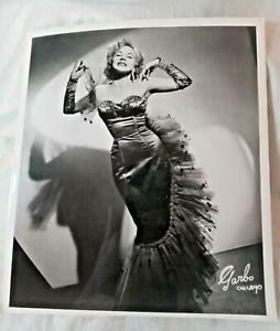 NIECA Burlesque Star A GARBO OF CHICAGO ORIGINAL PHOTO 1950 Pin Up 8x10