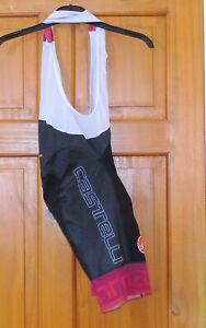 EXCELLENT CONDITION CASTELLI FREE AERO RACE BIB-SHORTS. SMALL