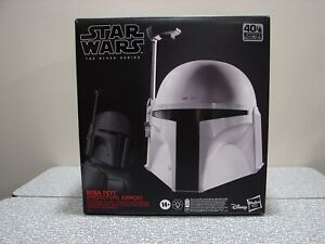 Star Wars The Black Series Boba Fett Prototype Armor Electronic Helmet