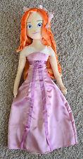 "HUGE 36"" Princess Giselle My Size 3ft Plush Stuffed Figure Doll Disney Enchanted"