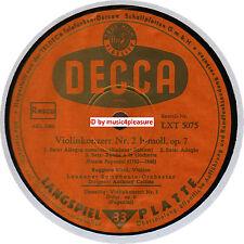 ♫ LP 1956 Ruggiero Ricci - PAGANINI  Violinconcerts Decca LXT 5075 LONGPLAY NM ♫