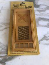 Houseworks Miniatures 1:12 Scale Cross Buck Door