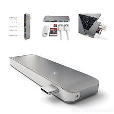 Satechi Type-C USB 3.0 3 in 1 Combo Hub for MacBook 12in Gunmetal