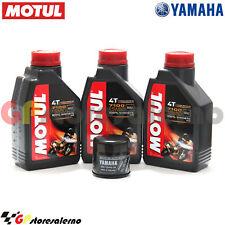 OLIO + FILTRO ORIGINALE MOTUL 7100 15W50 3L YAMAHA 700 MT 07 MOTO CAGE ABS 2016
