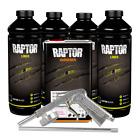 U-POL 820 Raptor Black Spray-On Truck Bed Liner Kit with Gun (4 Liter)