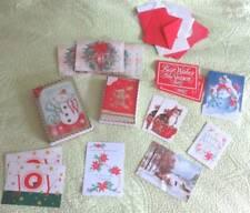 New Mixed Big 48+ Lot Seasons Greeting Holiday Cards + Envelopes Craft Art Snow