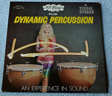 "101 Strings Plus Dynamic Percussion / Alshire Records 12""LP"