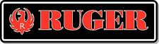"Ruger Bumper Large Sticker 12"" x 4"""