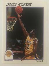 James Worthy 1991-1992 NBA Hoops LA Lakers Los Angeles 106    The Last Dance