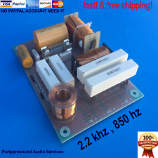 3 way crossover for JBL speakers 2.2 khz & 850 hz frequency pro audio grade