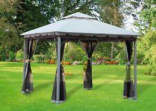 Gazebo giardino acciaio Smeralda mt 3x3