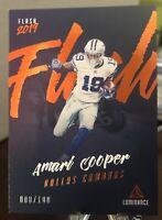 2019 Luminance FLASH Orange  Amari Cooper /100 Cowboys