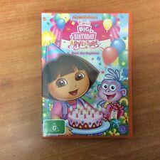 Dora's Big Birthday Adventure - R4 - DVD - Very Good Condition