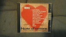 COMPILATION - NOTE D'AMORE  (DALLA GRAZIANI VASCO ROSSI. ..) CD VERA MAGAZINE