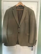 Marks And Spencer Mens Blazer 48 Inch Chest Natural Stone Colour